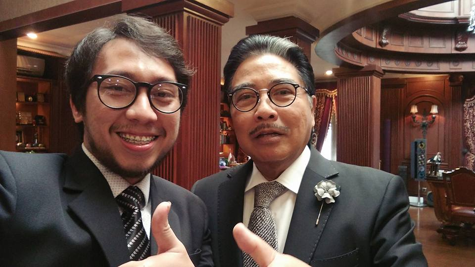 Boris Tampubolon dan Bapak Hotma Sitompoel