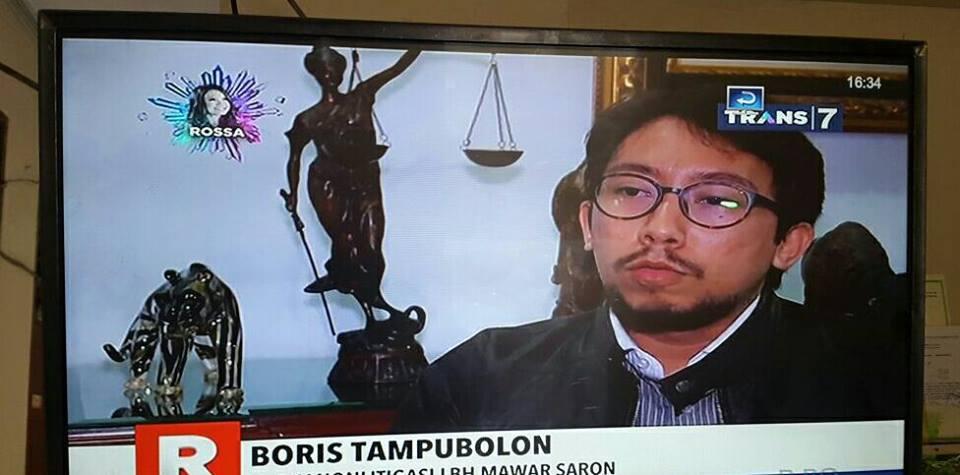 Boris Tampubolon Advokat dan Konsultan Hukum