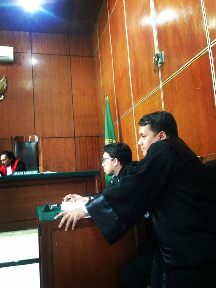 Boris Tampubolon sidang Pengadilan Jakarta Utara
