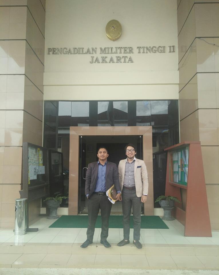 Boris Tampubolon sidang di Pengadilan Militer Jakarta